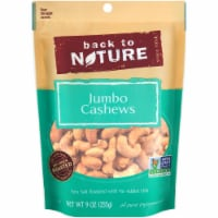 Back To Nature Plant Based Jumbo Sea Salt Roasted Cashews