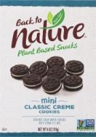 Back to Nature™ Plant Based Mini Classic Creme Cookies - 6 oz