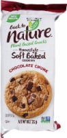 Back to Nature Chocolate Chunk Homestyle Soft Baked Cookies - 8 oz