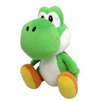 Nintendo 42724 Nintendo 7.5 in. Super Mario Bros Yoshi Plush Doll