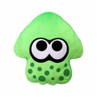 "Splatoon 2 14"" Plush Pillow: Squid, Neon Green"