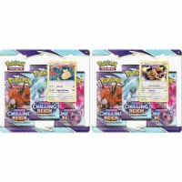 Pokemon™ Sword Shiled Chilling Reign Trading Card Game - 3 pk