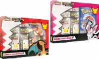 Pokemon: Celebrations Collections: Lance's Charizard V OR Dark Sylveon V Trading Card Collection - 1 ct