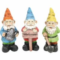Alpine 10 In. Gnome Lawn Ornament KGD100ABB Pack of 6 - 6