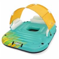 Bestway 43407E Hydro Force Sunny 5 Person Inflatable Floating Island Lounge Raft - 1 Unit