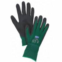 Honeywell Coated Gloves,L,Black/Green,PR  NF35/9L - 1