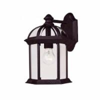 Savoy House Kensington Wall Mount Lantern in Textured Black