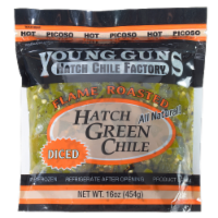 Young Guns Diced Flame Roasted Hatch Green Chile