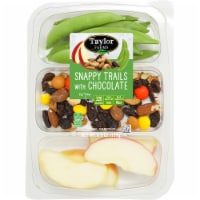 Taylor Farms Snappy Trails with Chocolate Snack Pack