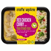 Cafe Spice Red Chicken Curry with Thai Fried Rice