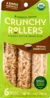 Crunchy Rollers® Organic Original Brown Rice Rollers - 6 ct / 2.6 oz