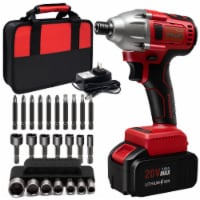 Toolman ZTP030 20V Brushless Cordless Battery Powered 0.25 Inch Impact Driver - 1 Piece