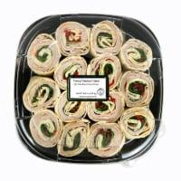 Turkey Pinwheel Platter