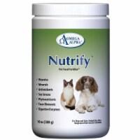 Omega Alpha 450516 10 oz Nutrify Powder Pet Food - 1