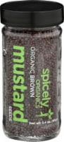 Spicely Organics Brown Mustard Seed - 2.4 oz