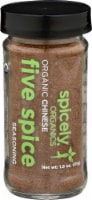 Spicely Organic Chinese Five Spice Seasoning - 1.8 oz