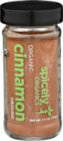 Spicely Organic Ground Cinnamon - 1.4 oz