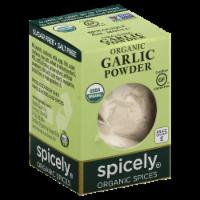 Spicely Organics Spices Garlic Powder - .6 oz