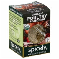 Spicely Organic Poultry Seasoning - 0.35 oz