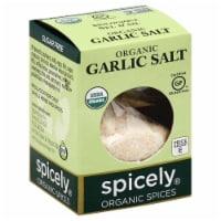 Spicely Organic Garlic Salt - .8 oz