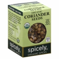 Spicely Organic Coriander Seeds - .3 OZ