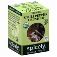 Spicely Organic Crushed Chili Pepper - .3 oz