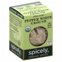 Spicely Organic Ground White Pepper - .45 oz