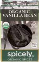Spicely Organic Vanilla Bean - 0.2 oz