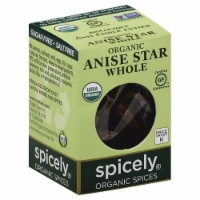 Spicely® Organic Whole Anise Star - .1 OZ