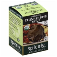 Spicely Organic Chinese Five Spice - .4 OZ