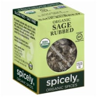 Spicely Organics Rubbed Sage