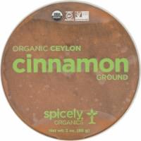 Simply Organic Ground Cinnamon - 3 oz