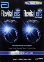 RevitaLens Multi-Purpose Disinfecting Solution Twin Pack