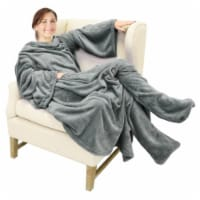 The Cozy Blanket with Sleeves - 1