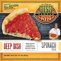 The Dish Deep Dish Spinach Pizza