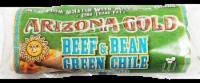 Arizona Gold Beef & Bean Geen Chili Burrito