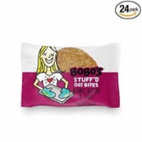Bobo's Oat Bars - Oat Bites Peanut Butter Jelly Gluten Free - Case of 24 - 1.3 OZ