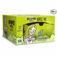 Bobo's Oat Bars - Oat Bites Apple Pie Gluten Free - Case of 24 - 1.3 OZ