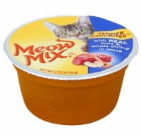 Meow Mix Tender Favorites Real Tuna & Whole Shrimp in Sauce Wet Cat Food Case