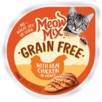 Meow Mix Grain Free with Real Chicken in Gravy Cat Food