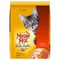 Meow Mix Tender Centers Salmon and Chicken Dry Cat Food - 13.5 lb