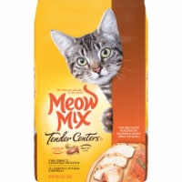 Meow Mix Tender Centers Salmon and Chicken Dry Cat Food