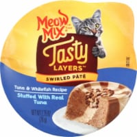 Meow Mix Tasty Layers Tuna and Whitefish Wet Cat Food