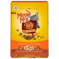 Meow Mix Tasty Layers Roasted Chicken and Homestyle Gravy Flavor Dry Cat Food