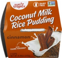 Sun Tropics  Coconut Gluten & Dairy Free Cinnamon Rice Pudding 2 Count