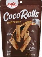 Sun Tropics Gluten & Dairy Free Espresso Coco Rolls Wafers