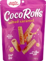 Sun Tropics Gluten & Dairy Free Salted Caramel Coco Rolls Wafers