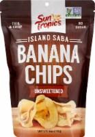 Sun Tropics Island Saba Unsweetened Banana Chips