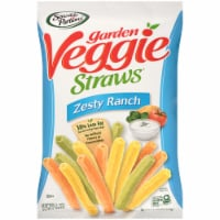 Sensible Portions Garden Veggie Straws Zesty Ranch Vegetable and Potato Snack