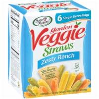 Sensible Portions  Zesty Ranch Garden Veggie Straws 6 Count